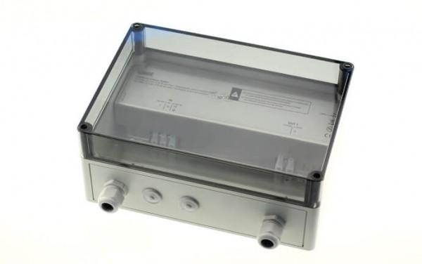 Montagegehäuse Kunststoff, IP65, mit 2 in/1 out, t