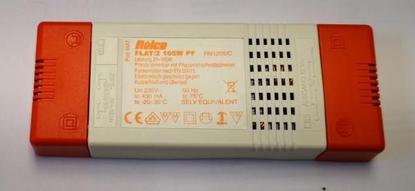 FLAT105/2 105W 230/12V 4,7 MOhm
