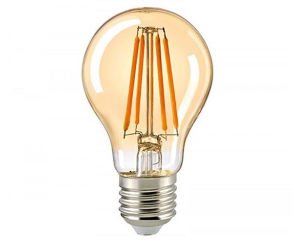 Normallampe Filament gold E27 4,5 W 2500K