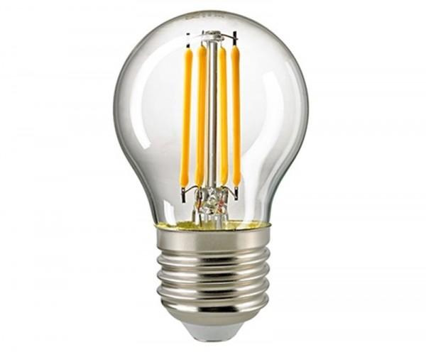 Kugellampe Filament klar E27 4,5 W 2700K