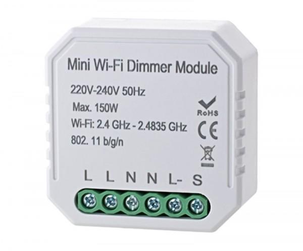 WIFI Dimmer SIGOR shaire für Unterputzdosen max- 150W 2 Kanal
