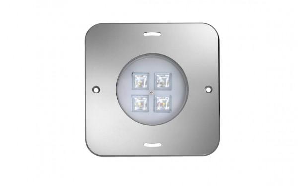 Einbau-Scheinwerfer Quadtratische Aufsatzblende RGB-WW LED