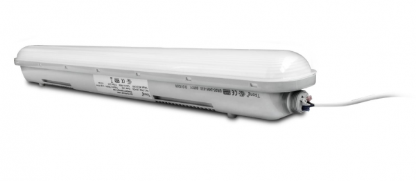FR Wannenleuchte LED 50W 4000°K 1,5m Durchgangsver