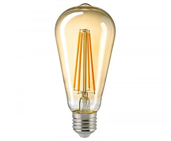 Edison-Lampe Filament gold Rustika E27 7 W 2500K