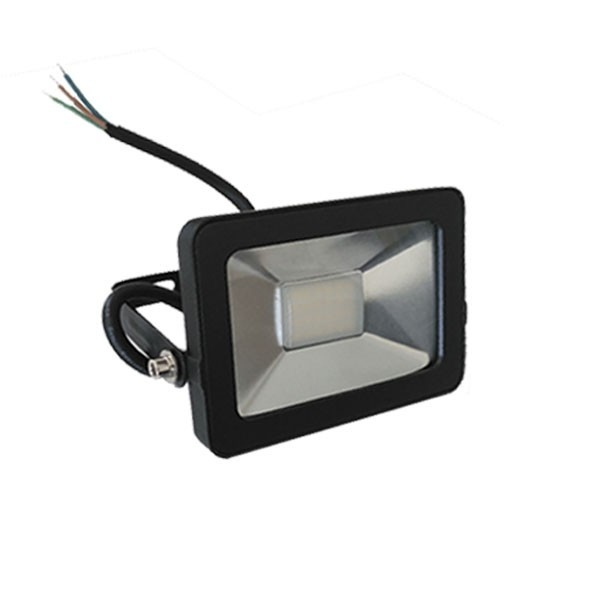 Flood Light 30 Watt schwarz 3000K IP65