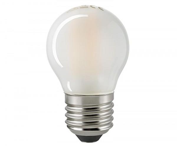 Kugellampe Filament matt E27 6 W 2700K