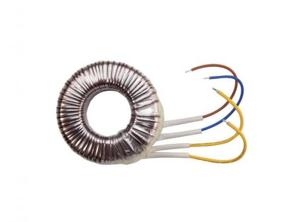 Ringkerntrafo TOR100T 100VA 230/12V 47X105X37 Halogen thermische Sicherung