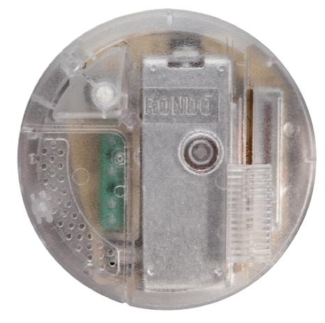 RELCO Rondo Schiebedimmer transparent 4F für 2 Lichtquellen LED (4F) BLACK 4-100W (40-250W HALO)