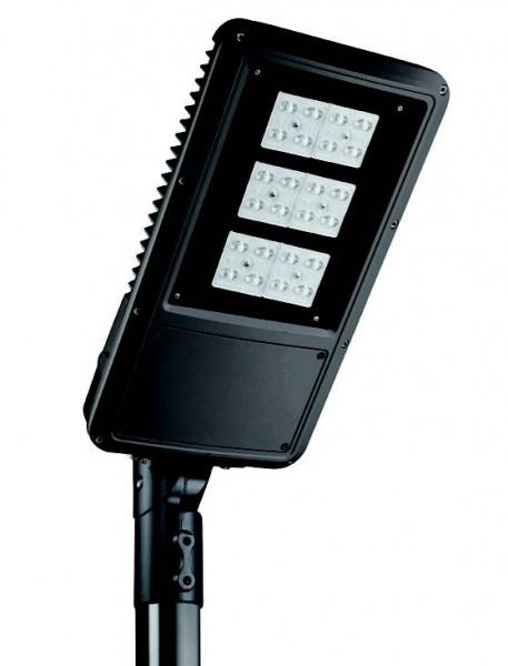Mast und Wand Leuchte LED MAXI SPLUGA 140W 4K IP66 RAL7016 OPC 15.500 lm