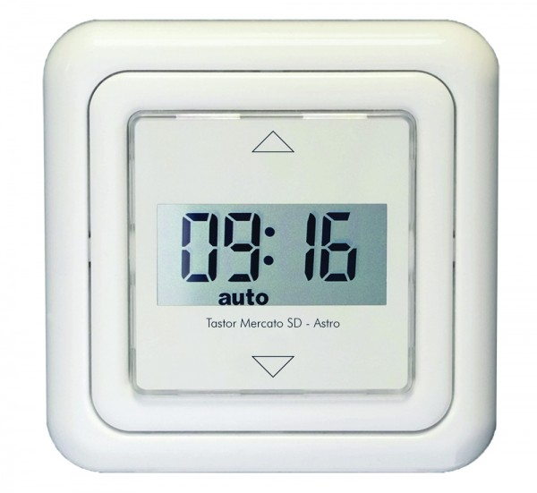 Automatik Tastor Mercato SD - Astro, Tages- und Wochenprogr