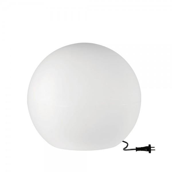 Leuchtkugel CUMULUS M OUTDOOR S MAX 1X60W E27 IP44 weiss aussen Moon