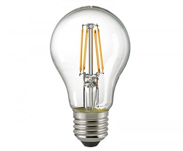 Normallampe Filament klar E27 8,5 W 2700K