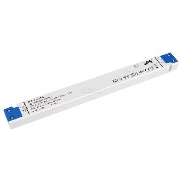 Super Slim LED Netzteil SELF 75W 24V/3,1A CV ULTRATHIN