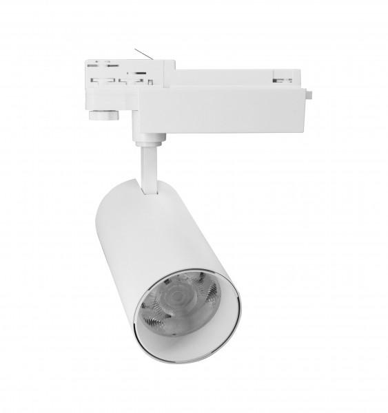 LED Track Strahler 30W 3 Ph. Schiene 4K
