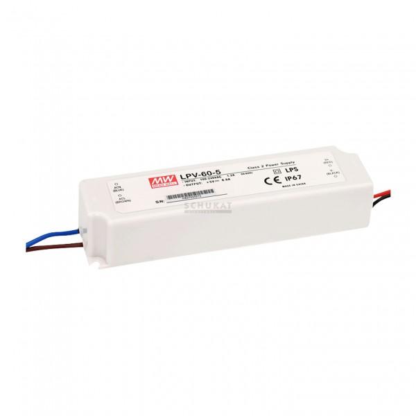 LPV-60-12 LED Netzteil Class2 60W 12V/5A CV