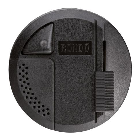 RELCO Rondo Schiebedimmer schwarz 4F für 2 Lichtquellen LED (4F) BLACK 4-100W (40-250W HALO)