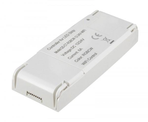 Shaire WIFI Controller für LED-Streifen RGBW 12/24V dc 96/192 W max. 8 A Alexa + Google kompatibel