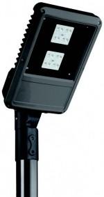 Mast- und Wandleuchte LED MINISPLUGA CELL ST 35W 4K IP66 RAL7016 OPC CR