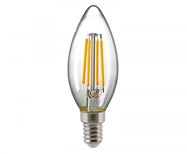 Kerzenlampe Filament klar E14 4,5 W 2700K
