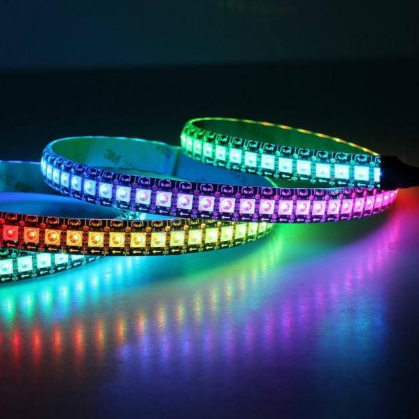 LED Stripe RGB farbig 5050 60-24V IP65 wassergeschütz für aussen